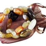 Bracelets stones — Stock Photo