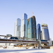 Business center Moscow City — Stockfoto #2046733
