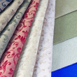 Stock Photo: Color textiles