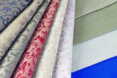 Color textiles — Stock Photo