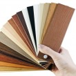 Laminate samples — Stock Photo