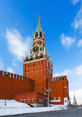 Spassky Tower of Moscow Kremlin — Stock Photo