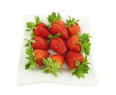 熟したイチゴ — ストック写真
