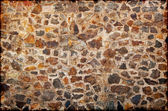 Background in style grunge - a wall from — Stock Photo