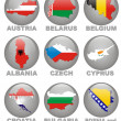 Royalty-Free Stock Photo: Symbolics of the European countries
