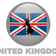 Country symbols of United Kingdom — Stock Photo