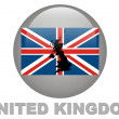 Country symbols of United Kingdom — Foto de Stock