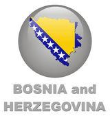 Country symbols of Bosnia and Herzegovin — Stock Photo
