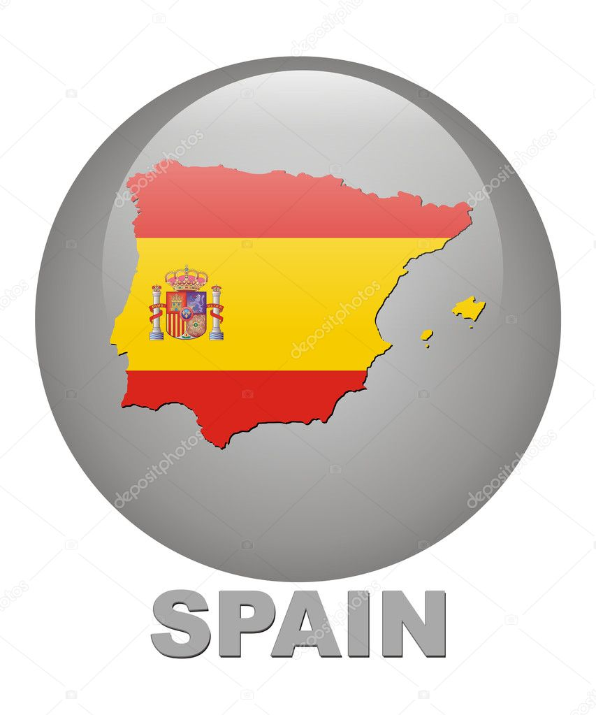 Spain seamless pattern. Spanish traditional sticker ...