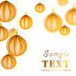 Background with Christmas decorations — Stock Photo