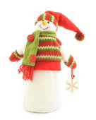 Figure of a snowman — Stock Photo