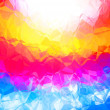 Foto Stock: Bright multicolor abstract background