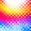 Bright multicolor abstract background - Stock Photo