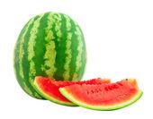 The ripe cut water-melon — Stock Photo