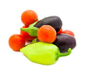Set of various vegetables — Foto de Stock