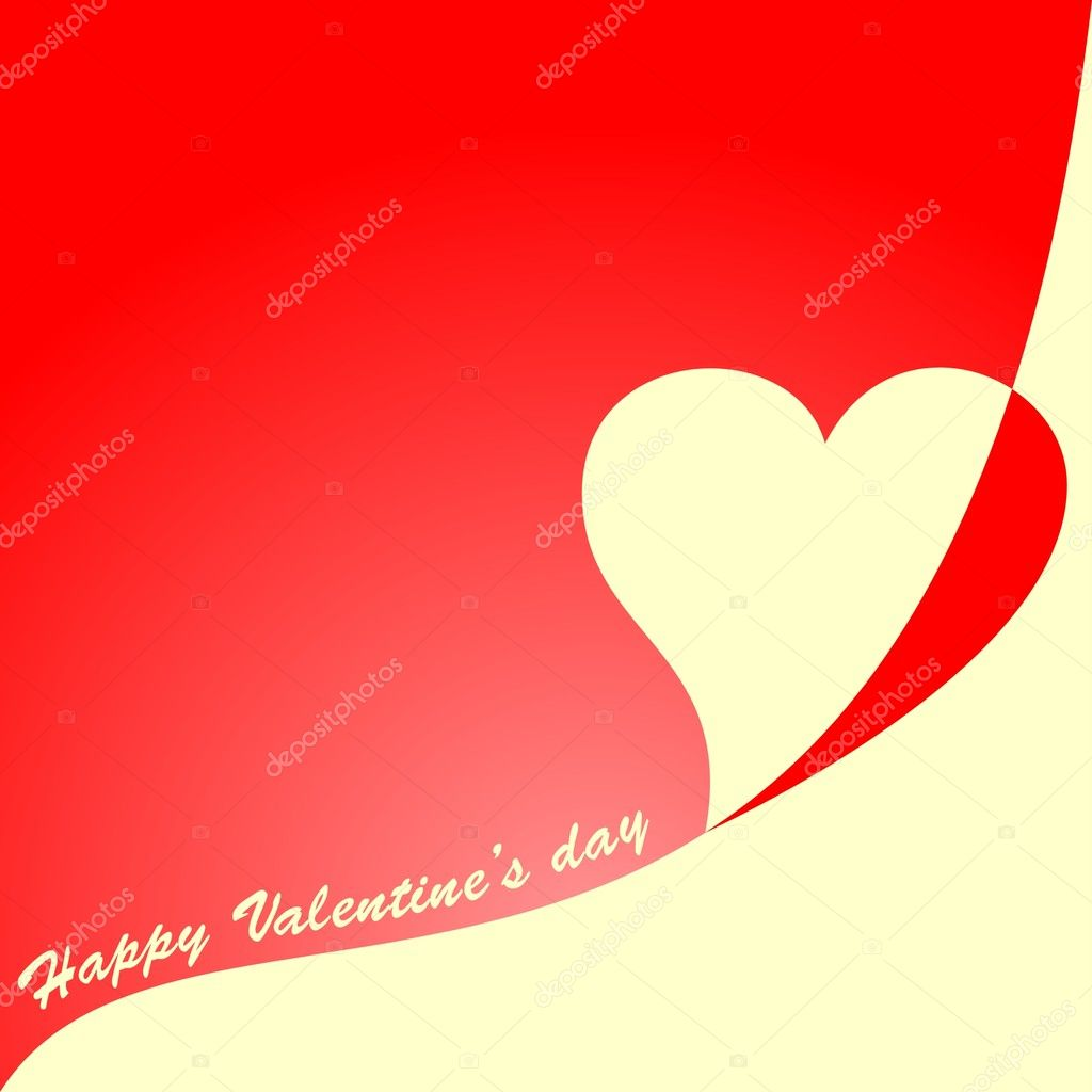 Vector valentine's Day vector card — Stock Vector #1971442