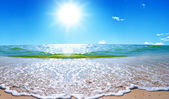 Summer sea landscape — Stock Photo