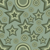 Background with stars and circles — Stock Vector