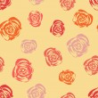 Royalty-Free Stock Vector Image: Abstract seamless pattern with roses