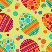 Easter seamless pattern — Vector de stock