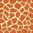 Royalty-Free Stock Vektorgrafik: Giraffe skin seamless pattern