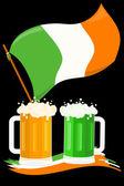 St. Patrick's Day postcard — Stock Vector