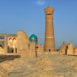 The panorama of Bukhara Old Town — Stock Photo