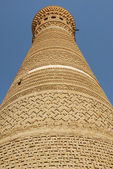 Old Moslem minaret — Stock Photo