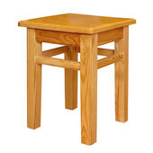Simple stool isolated — Stock Photo