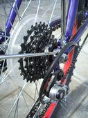 Gear of bicycle (back wheel) — Stok fotoğraf