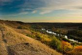 Evening landscape — Stock Photo