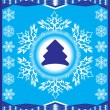 Christmas vector background — Image vectorielle