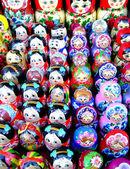 Souvenir nest-dolls — Stock Photo