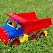Toy lorry — Stock Photo