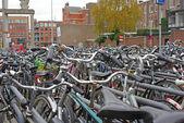 Bicycle boom — Stock Photo