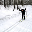 Stock Photo: Skier