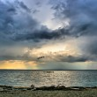 Sea and clouds landscape — Stock Photo