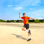 Happy runner — Stock Photo #1330637