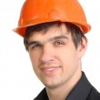 Man in hard hat — Stock Photo #1332332