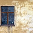 Window and old wall — Stock Photo