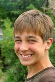 Smiling teenager — Stock fotografie