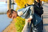 Teenager outdoor — Stock Photo