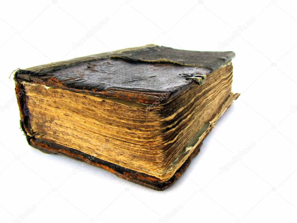 Old book isolated on the white background                  Stock Photo #1332641