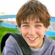 Cheerful teenager — Stock Photo