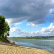 River landscape — Stockfoto