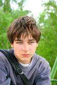Sad teenager — Stock Photo