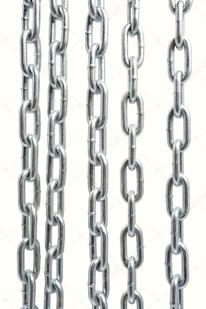 Chain isolated on the white background — Stock Photo #1734788