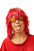 Boy in party costume — Stock Photo