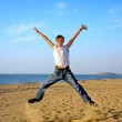 Teenager jumping — Stock Photo #1946554