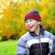 Laughing kid — Stock Photo